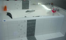 Installation d'une baignoire à Wissous