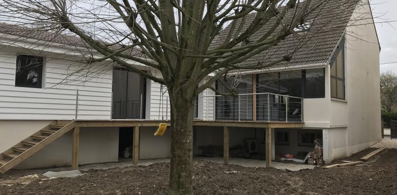 agrandissement de maison Essonne