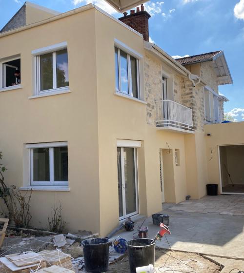 extension de maison à Savigny