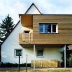 Créer une extension en bois sur pilotis
